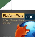 Platform Wars (tl;dr Conference)