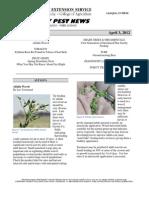 Kentucky Pest News April 3, 2012