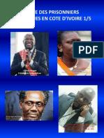 Liste Prisonniers Politiques en Côte d'Ivoire