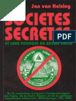 Van Helsing Jan Les sociétés secrètes et leur pouvoir au 20eme siècle