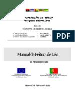 Manual de Feitura de Leis CPLP