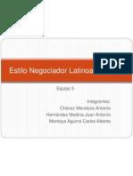 Estilo Negociador Latinoamericano