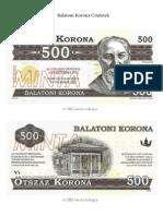 Balatoni Korona Címletek 500-20.000