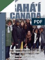 Bahai Canada Avril 2012