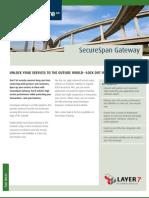SecureSpan SOA Gateway Gateway & Software AG