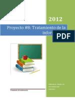 Proyecto #8 Revista