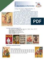 Catálogo de Comics Digitalizados 1 - Comics chilenos