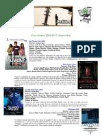 Cine chileno disponible 2009-2011