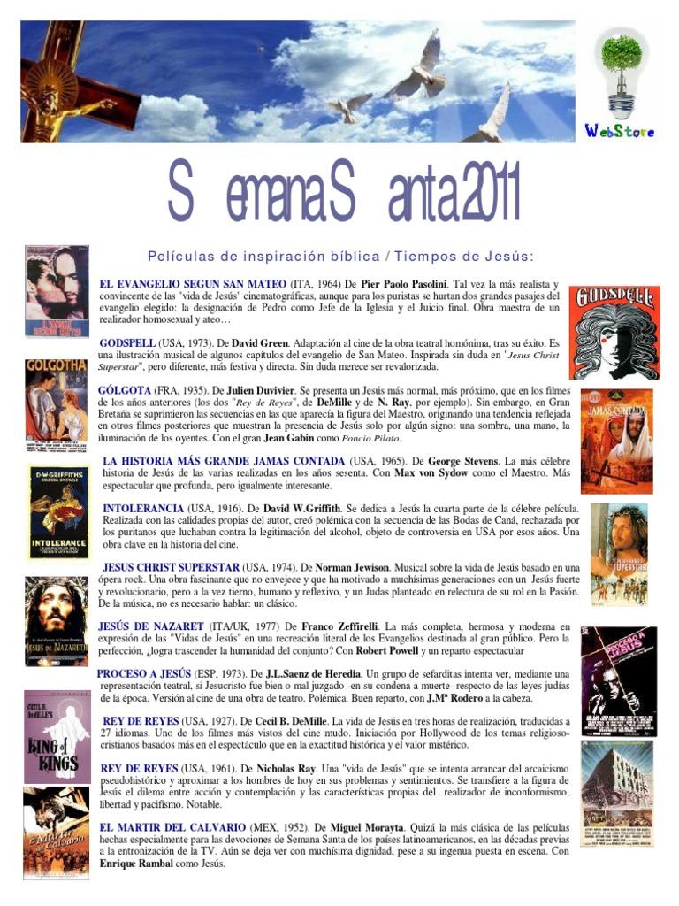 Cine Religioso y Espiritual - Semana Santa 2011
