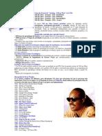 Curso francés - Stevie Wonder - Cine fantástico