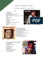 Michael Jackson Discografía-Anexo