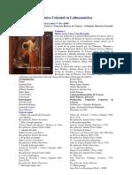 Música Colonial en Latinoamérica