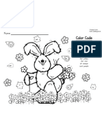 Spring Sight Word Color by Code