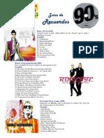 Música para todos - Zona de Recuerdos 80-90