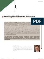 Multi Threaded Processors