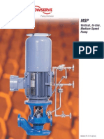 FlowServe InLine Pump