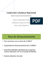 8.Colección Litoteca Nacional