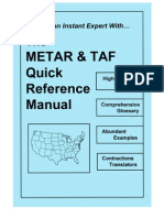 The METAR & TAF Quick Reference Manual