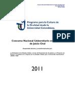Caso Hipotetico - Concurso Nacional - 2011