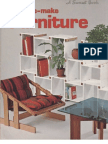 Carpentry - Easy-To-Make Furniture - Sunset Books 1977