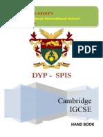 Spis Igcse Ms Handbook