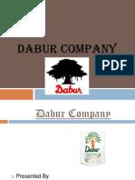 Dabur Company Ppt MBA
