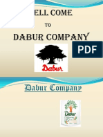 Dabur Company Marketing PPT  Mba