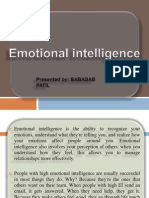 Emotional Intelligence PPT MBA