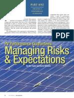SolarPro Managing Risks June 2011