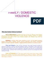 Family Violence -Presentation1