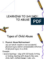 Learning Say No Abuse