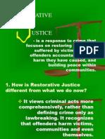 Restorative Justice Presentation