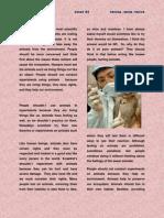 Essay # 2 Animals