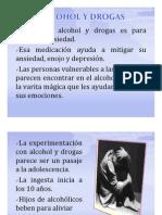 9. Alcoholismo y drogadicción