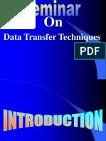 Data Tranfer Techinques