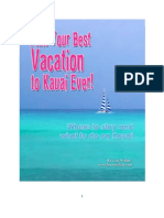 Plan Your Best Kauai Vacation Ever