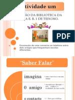 Descrição Da Biblioteca Da Escola