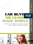 Car Buying and Leasing Made Simple