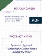 Choosing Your Career Path