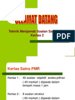 Answering Technique Pmr p2