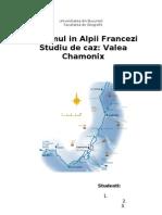 Turismul in Alpii Francezi - Studiu de Caz - Valea Chamonix