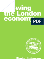 Boris Johnson 2012 Economy Manifesto