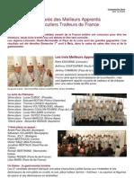 CP - MAF - 2012 - Palmarès des Meilleurs Apprentis Charcutiers Traiteurs de France