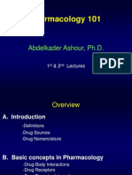 DOR 101 Pharmacology 1st and 2nd