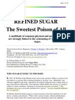13111906 Refined Sugar the Sweetest Poison of All
