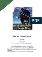 Tak Jak Czlowiek Mysli - James Allen