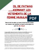 30512332 Recueil de Fatwas Concern Ant Les Vetements de La Femme Musulmane