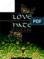 87214562 Love and Hate for the Sake of Allah