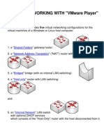 Virtual Networks in VMware--Windows