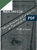 catálogo escala magirus 1912